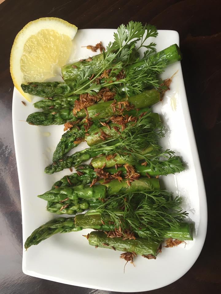 Szparagi po indyjsku