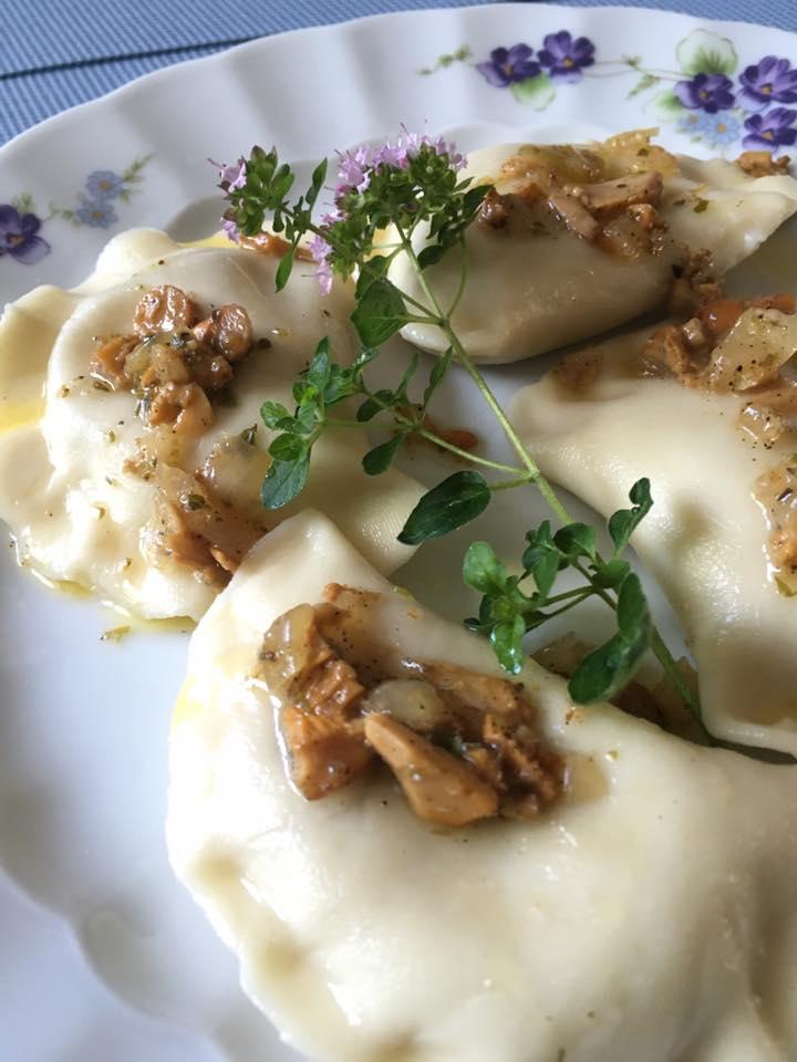Pierożki z kurkami – koniecznie z oregano