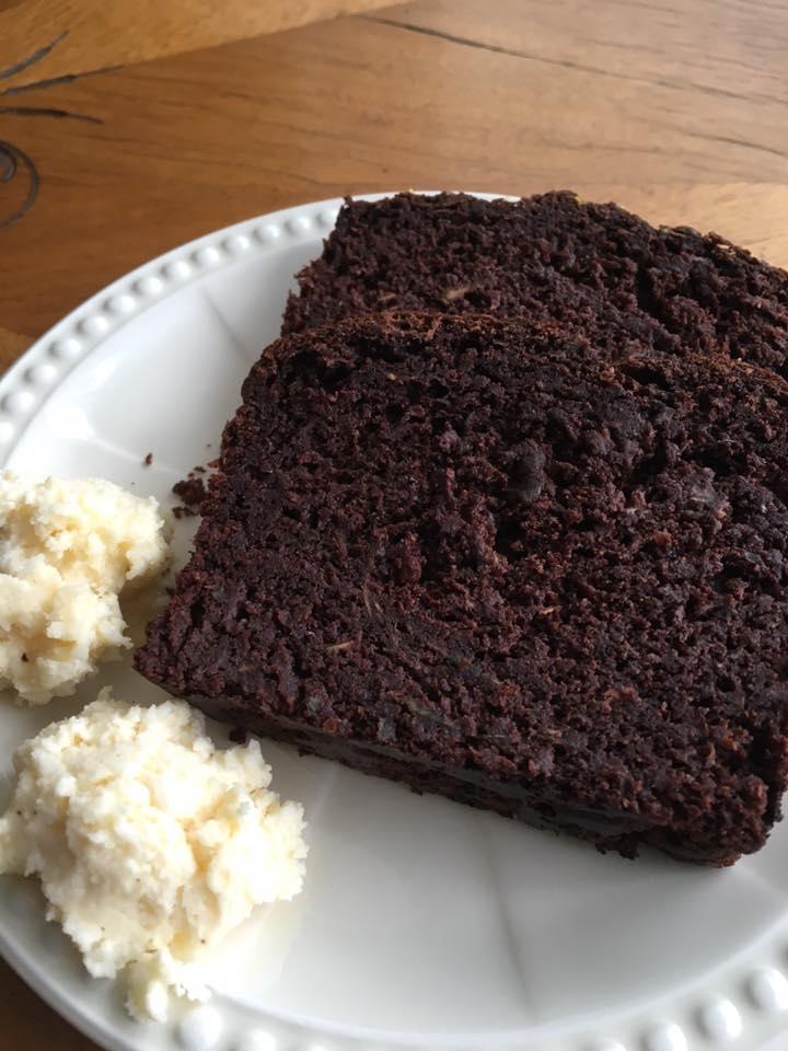 Ciasto cukiniowo-kakaowe