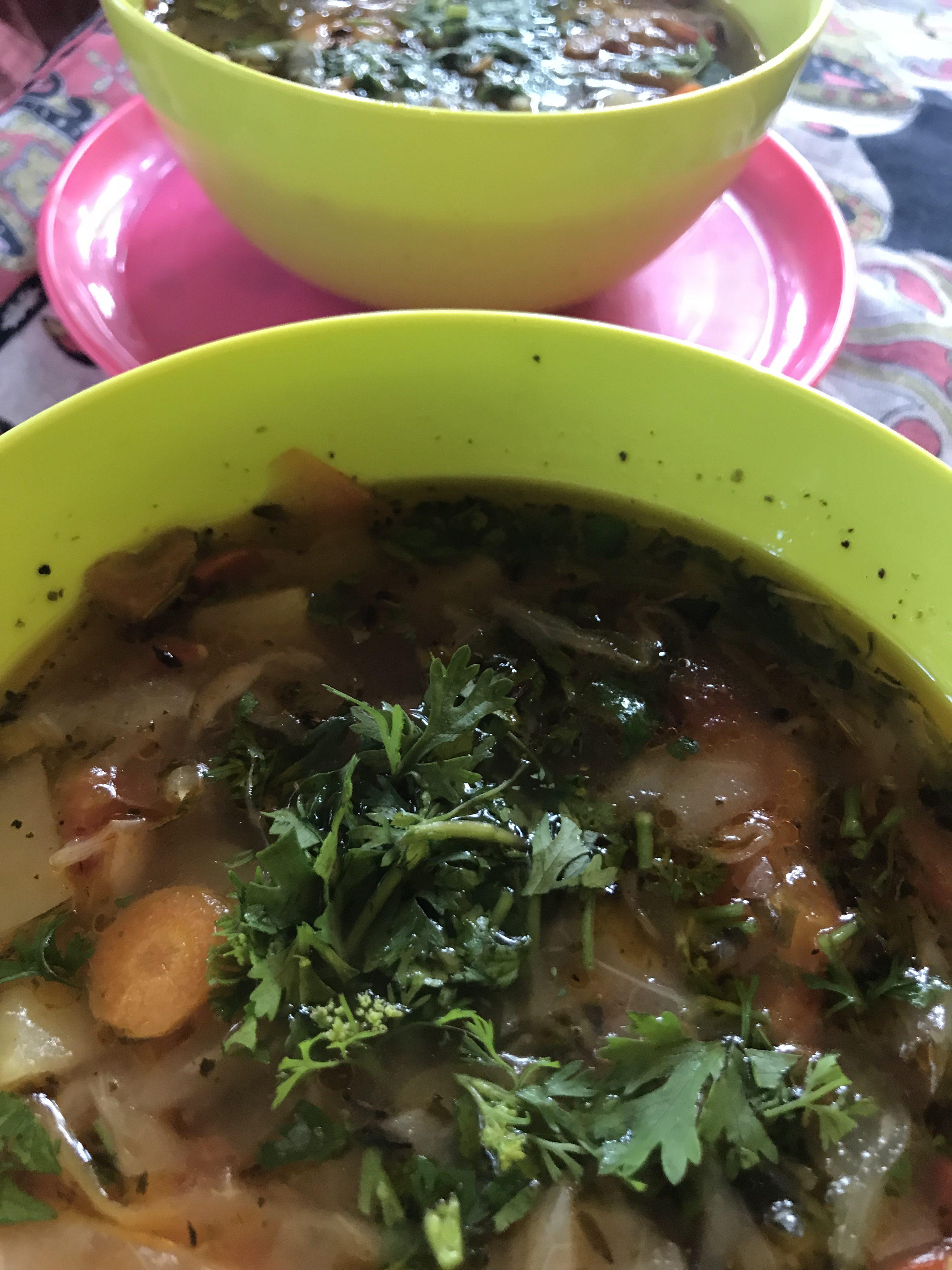 Zupa minestrone po indyjsku